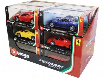 Bburago auta Ferrari 1:32 (sada 12ks) BB18-46100