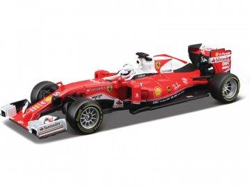 Bburago Ferrari SF16-H 1:32 Vettel BB18-46802Ve