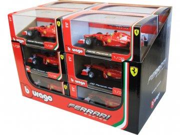 Bburago sada modelů formulí Ferrari 1:32 12ks BB18-46810