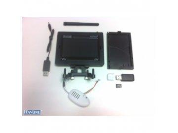 fpv monitor 4 palce s hd kamerou