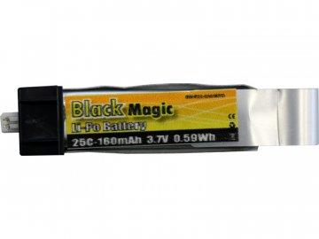 Black Magic LiPol 3.7V 160mAh 25C EFL BMF25-0160-1EFL