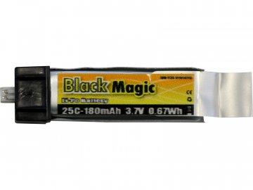 Black Magic LiPol 3.7V 180mAh 25C EFL BMF25-0180-1EFL
