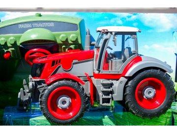 RC traktor v mierke 1:28