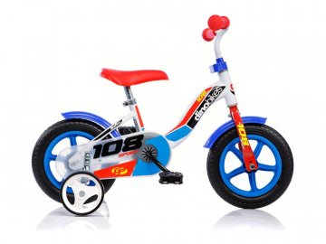 "Dino-Bikes DINO Bikes - Dětské kolo 10"" modré DB-108LB"