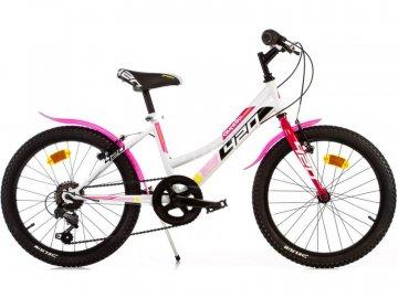 """Dino-Bikes DINO Bikes - Dětské kolo 20"""" Aurelia 420 Sport růžové DB-420D"""
