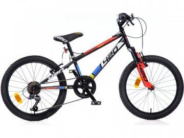 """Dino-Bikes DINO Bikes - Dětské kolo 20"""" Aurelia 420 Sport odpružené černé DB-420US"""