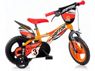 "Dino-Bikes DINO Bikes - Dětské kolo 12"" Raptor DB-612L"