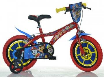 """Dino-Bikes DINO Bikes - Dětské kolo 14"""" Paw Patrol DB-614PW"""