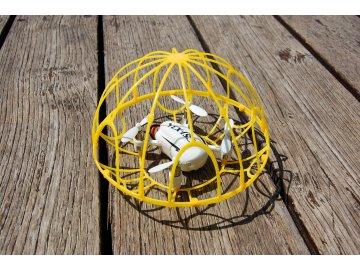 Rayline Photon Spirit - dron v klietke pre začiatočníka žltá