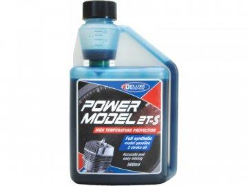 Deluxe Materials Power Model 2T-S olej do benzinových motorů 500ml DM-LU01