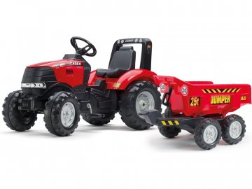 Falk FALK - Šlapací traktor Case IH Puma 240CVX s maxi vlečkou FA-996Q
