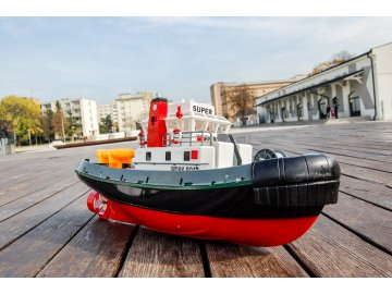 hasičská rc loď