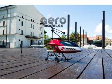 Obrovský vrtulník  QS8006, červený