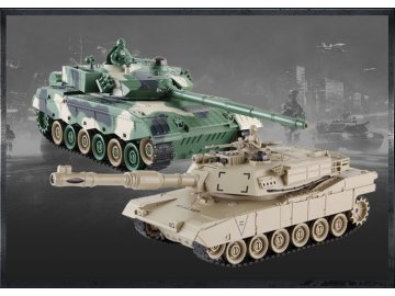 RC súbojové tanky 1:28 2.4GHZ