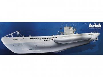 Krick Modelltechnik Krick Ponorka U-Boot Typ VII kit KR-20310