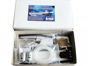 Krick Modelltechnik Krick Ponorka U-Boot Typ VII - sada ponor + pohon KR-20311