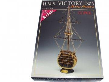 Corel COREL H.M.S. Victory 1651 řez 1:98 kit KR-21319