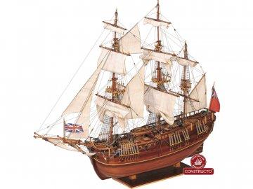 Constructo CONSTRUCTO Endeavour briga 1769 1:60 kit KR-23832