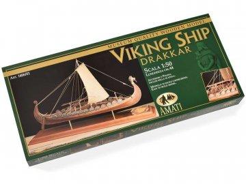 Amati AMATI Oseberg vikingská loď 1:50 kit KR-25006