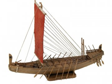 Amati AMATI Navae Egizia egyptská loď 1:50 kit KR-25013