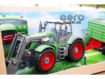 Traktor s prívesom 1:28