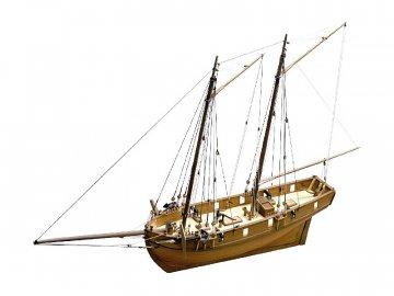 Caldercraft CALDERCRAFT H.M Ballahoo škuner 1803 1:64 kit KR-29013