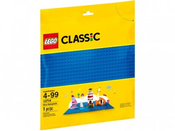 LEGO Classic - Modrá podložka na stavění LEGO10714