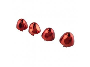 Klobúčiky červené na X8SW - červené