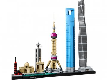 LEGO Architecture - Šanghaj LEGO21039