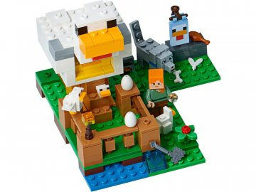 LEGO Minecraft - Kurník LEGO21140