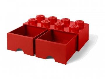 LEGO úložný box s šuplíky 250x500x180mm - bílý LEGO40061735