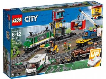 LEGO City - Nákladní vlak LEGO60198