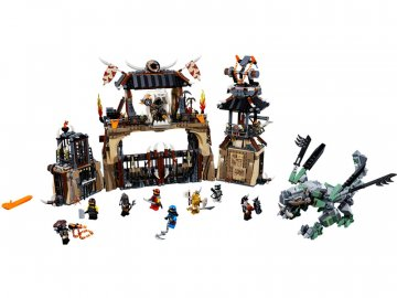 LEGO Ninjago - Dračí jáma LEGO70655