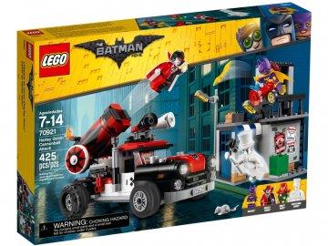 LEGO Batman Movie - Harley Quinn a útok dělovou koulí LEGO70921