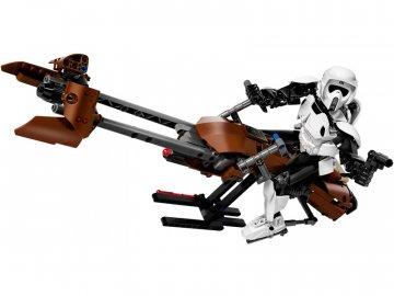 LEGO Star Wars - Průzkumný voják a speederová motorka LEGO75532