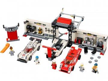 LEGO Speed Champions - Porsche 919 Hybrid a 917K ulička v boxech LEGO75876