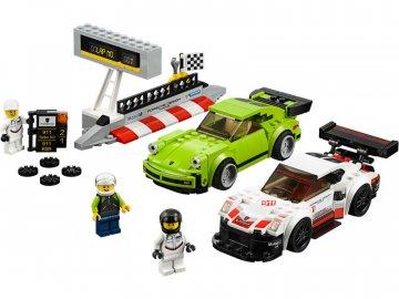 LEGO Speed Champions - Porsche 911 RSR a 911 Turbo 3,0 LEGO75888