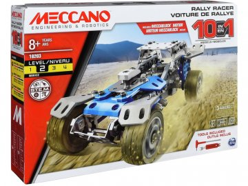 Meccano MECCANO - Rally s motorem 10 MEC18203