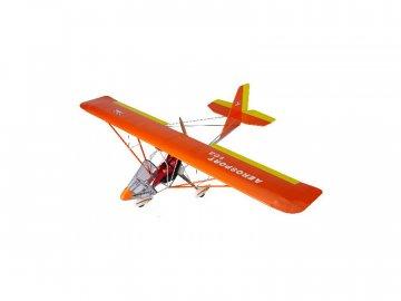 Super Flying Model Aerosport 103 1:3 2.4m ARF oranžový NA8713B