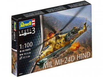 Revell Mil Mi-24D Hind (1:100) RVL04951