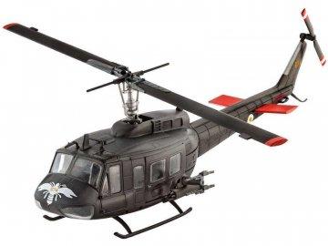 Revell Bell UH-1H Gunship (1:100) sada RVL64983