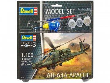 Revell Boeing AH-64A Apache (1:100) sada RVL64985