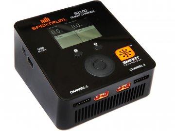 Spektrum Smart nabíječ S2100 2x100W AC SPMXC1010I