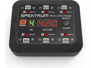 Spektrum Smart nabíječ Micro 6-port DC/USB SPMXC1060
