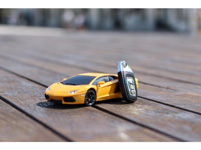 RC lamborghini Aventador 1:14, sport racing, oranžová