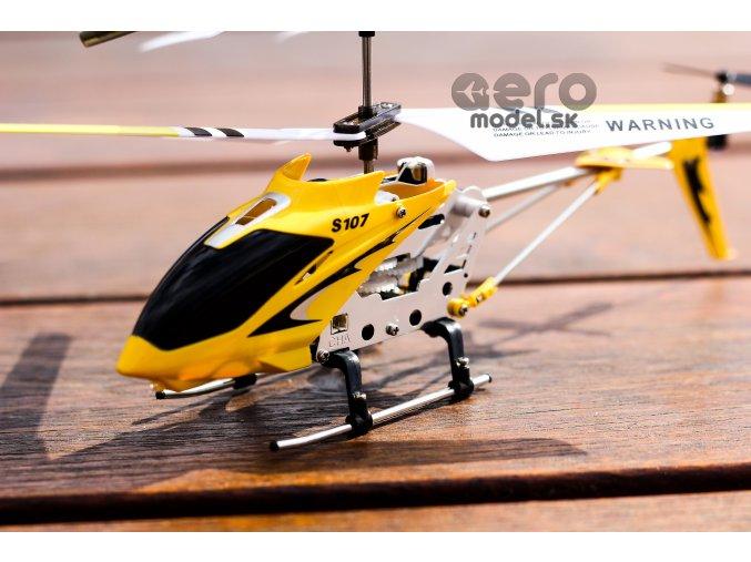 RC vrtuľník Syma S107, žltá