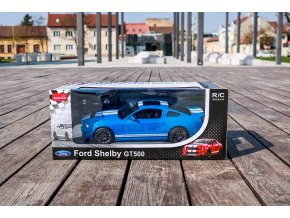 Rastar Ford Mustang Shelby GT500 1:14 modrý