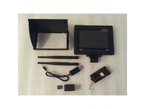 FPV sada s výkonnou HD kamerou 5,8 GHz