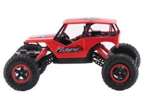 UF: RC auto Rock Crawler 1:16 RTR 2.4GHz, ČERVENÁ FARBA