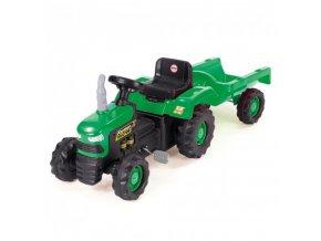 traktor farmer s vozikem (1)
